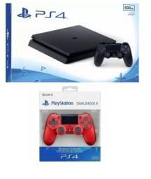 Plastation 4 - PS4 - 500 GB + Jogos