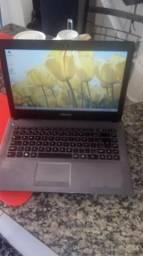 Notebook Positivo 500gb Hd bem conservado