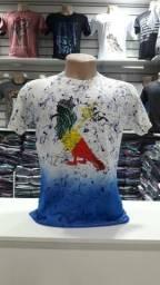 Camisa lavada atacado