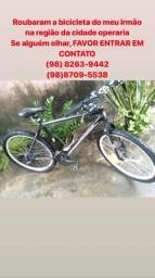 Bicicleta Roubada! recompensa a quem achar!