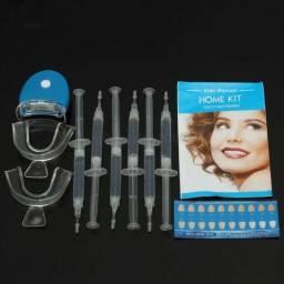 Kit de Branqueamento Dental com LED Acelerador