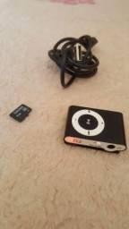 Mp3 FM+cartão de memória 8gb