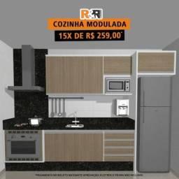 Cozinha modulada 100% MDF