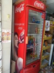 Freezer porta de vidro