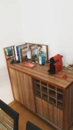 Bar e armário super prático