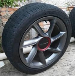 Rodas 17 Fiat Bravo Sporting + Pneus