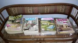 Revistas Casa Cláudia, Casa e Jardim, Arquitetura e Construção e Viver Bem