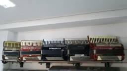 Teclados e acordeons
