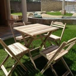 Cadeiras e mesas de madeira para Bar, Restaurante, Lanchonete