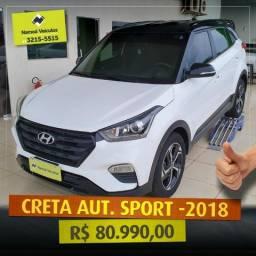 Creta Sport 2018 - Abaixo da Fipe - 2018