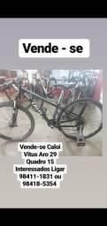 Bicicleta Caloi vitus aro 29