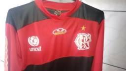 243ef1cea4 Camisa Do Flamengo De Manga Comprida