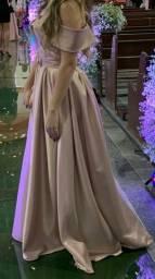 Vendo vestido de festa (rosa chá)