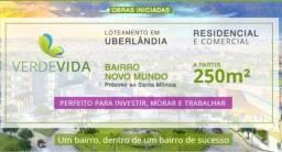 Bairro Novo Mundo lote a venda - Uberlândia, MG