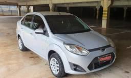 Fiesta 1.6 Sedan 8v 2014 Completo Prata - 2014