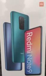 Pra hoje! REDMI Note 9 128 GB da Xiaomi.. Novo Lacrado com Garantia e Entrega imediata
