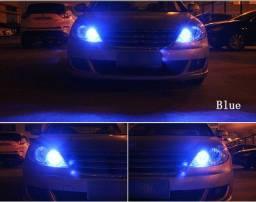 2 Lâmpadas Led Carro Colorida Diurna 12v incluso controle Remoto, usado comprar usado  Rio de Janeiro
