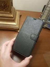 Capa carteira Moto E5 Plus