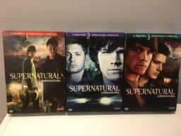 DVD Supernatural 1ª, 2ª e 3ª Temporada