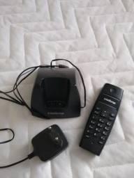 Telefone sem fio em perfeito estado.