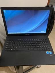Notebook Asus X551M (com problema em algumas teclas)