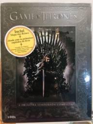 DVD Game of Thrones 1ª Temporada + Mapa dos Reinos