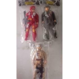 (WhatsApp) brinquedo boneco de plástico - patrulha policial - sq-3838