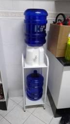 2 galões + suporte e porta filtro