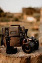Título do anúncio: Câmera Digital Nikon D90 + Lente 18-105mm