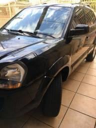 Tucson GLS 2014 preta flex automático