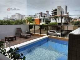 Apartamento à venda com 2 dormitórios em Cabo branco, João pessoa cod:37992