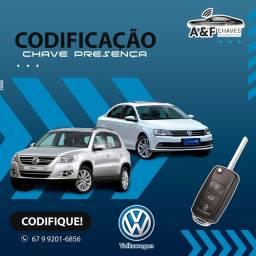 Chave Presença Volkswagen