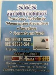 Título do anúncio: Ar condicionado instalação manutenção