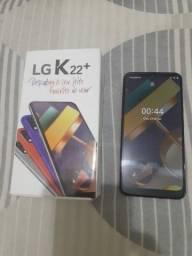 Vendo LG K22+<br>3GB RAM<br>64GB<br>Nunca usado<br>Aceito cartão