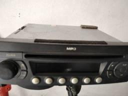 Título do anúncio: Rádio Original Peugeot 207