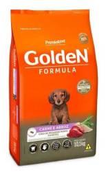 Golden fórmula pequeno porte filhotes carne 10.1kg