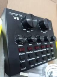 Interface de Audio V8