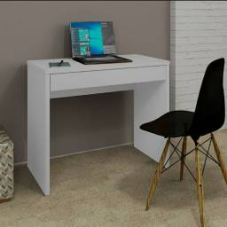 Escrivaninha Branca Nova Na Caixa