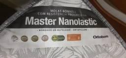 Título do anúncio: Colchão Novo Ortobom Queen Master Nanolastic - Oferta