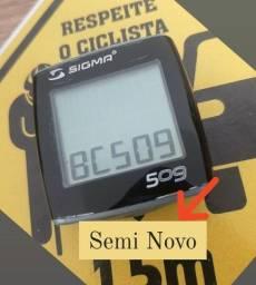 Título do anúncio: CICLOCOMPUTADOR SIGMA GERMANY BC-509 VELOCIMETRO BIKE 5f