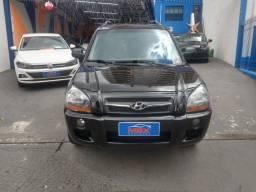 Hyundai Tucson 2.0 16V Mpfi Completa Automatica + Bancos  Em Couro.