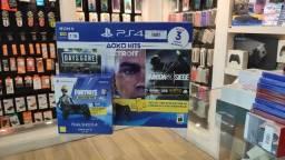 Playstation 4 1TB com 3 jogos (Novo Lacrado)