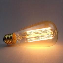 Título do anúncio: Lâmpada Filamento De Carbono Retro Vintage