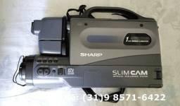 Título do anúncio: Filmadora Sharp VHS
