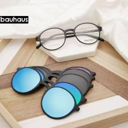 Óculos Clipon Polarizado Bauhaus