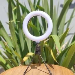 Título do anúncio: Ring Light Anel de Luz Liquidação de estoque 6 polegadas Stories Selfie'