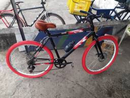 Título do anúncio: Bike 26 caloi alumínio