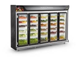 Expositor 5 portas para frutas e verduras *douglas