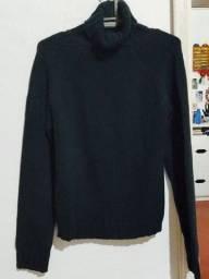 Blusa de lã grossa Zara