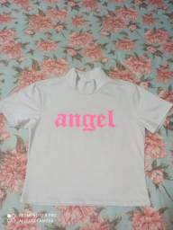 Cropped Angel Branco
